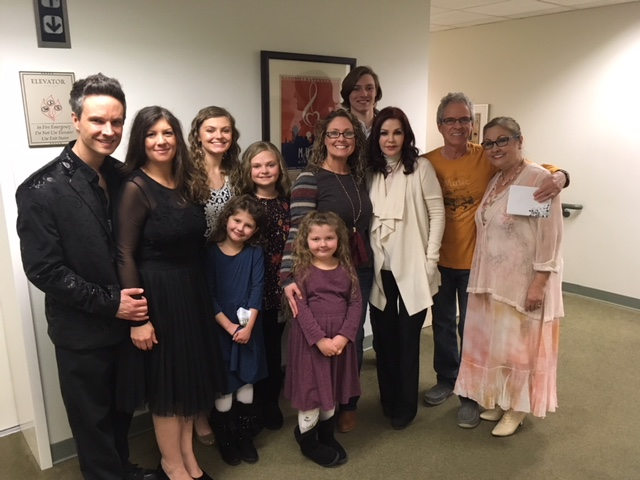 TMJ Family with Priscilla Presley, Nashville, January 20, 2018